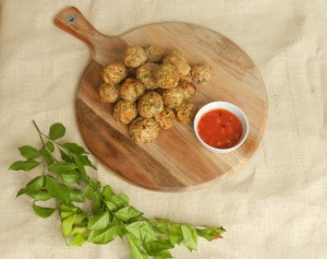 Paleo Thai Chicken Meatballs