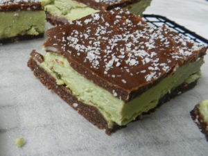 Paleo Choc Peppermint Slice