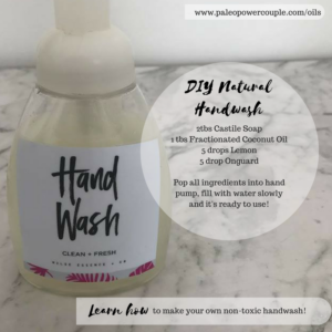 DIY All Natural Handwash
